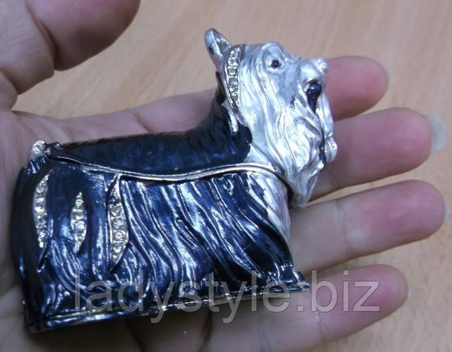 статуэтка шкатулка коллекционная фигурка щенок собачка котик птица купить подарок необычные подарки для женщин эксклюзивные часы украшения браслет