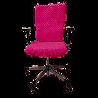 Чехол для офисного кресла Солодкий Сон Малиновый