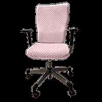 Чехол для офисного кресла Солодкий Сон Розовый