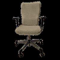 Чехол для офисного кресла Солодкий Сон Светло-Коричневый
