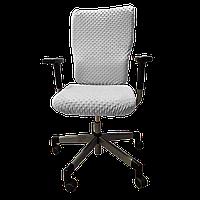 Чехол для офисного кресла Солодкий Сон Серый
