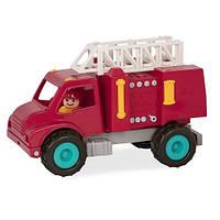 Детская игрушка BATTAT серии Первые машинки - ПОЖАРНАЯ МАШИНА (С 2 фИгурками) (BT2509Z)