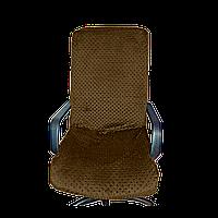 Чехол на офисное кресло Солодкий Сон Темно-Коричневый