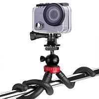 Гибкий штатив AIRON AC74-2 (L) для экшн-камер GoPro, AIRON, SONY, ACME, Xiaomi, SJCam, EKEN, ThiEYE Черный (69477915500011)