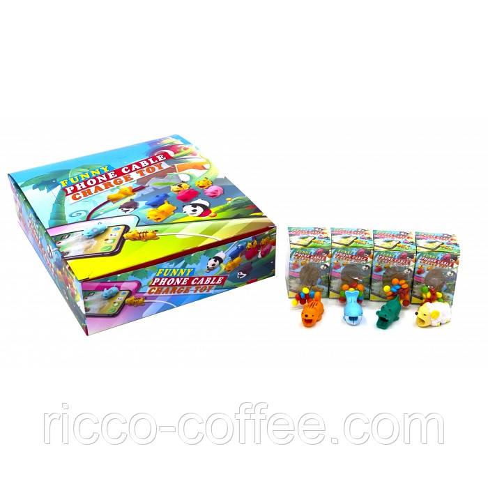 Цукрове драже з веселою іграшкою на кабель 30 шт (Китай)