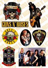 Стикерпак Guns N' Roses