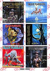 Стикерпак Iron Maiden (album covers 1986-1995)