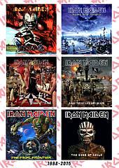 Стикерпак Iron Maiden (album covers 1998-2015)