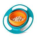 Детская тарелка непроливайка Universal Gyro Bowl 1235, фото 4