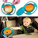 Детская тарелка непроливайка Universal Gyro Bowl 1235, фото 2