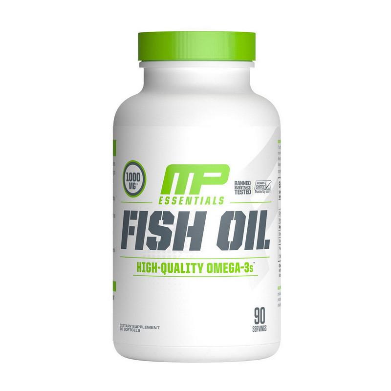 Омега 3 Muscle Pharm Fish Oil (90 капсул) рыбий жир мускул фарм