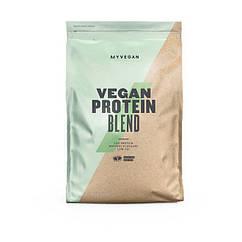 Растительный гороховый протеин Myprotein Vegan Protein Blend (2,5 кг) майпротеин веган бленд банан