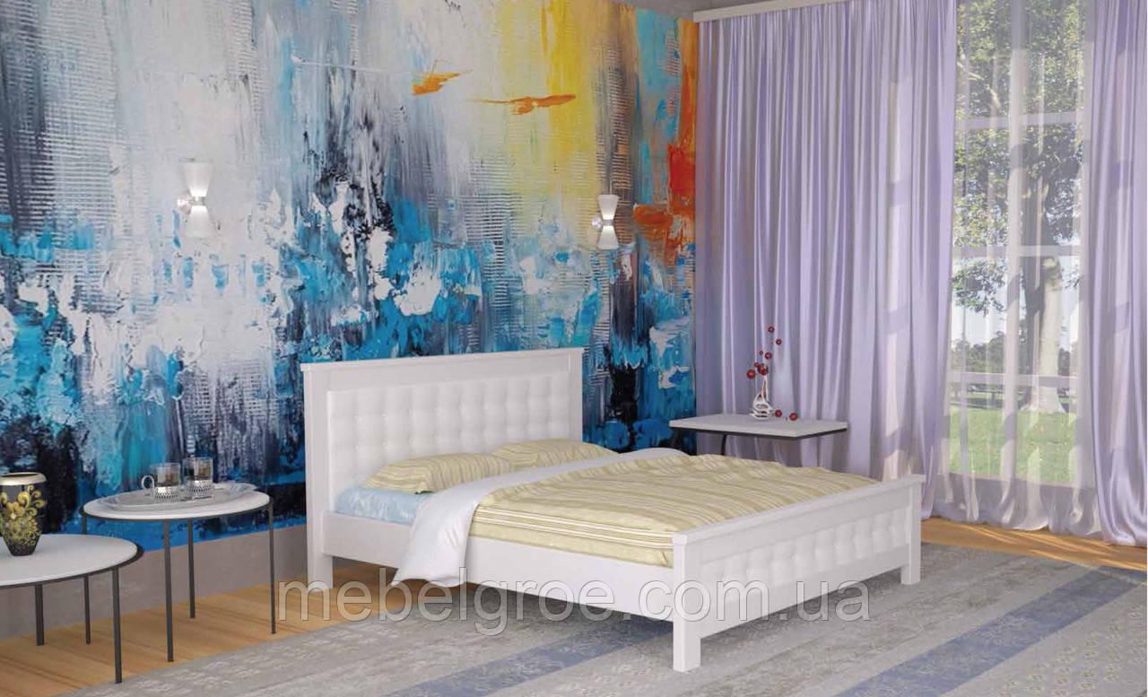 Деревянная двухспальная кровать 180 Диана тм Мекано