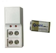 Зарядное устройство для металлоискателя Jiabao + аккумулятор крона 1шт (UDHHJJF789F)