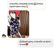 Пижама женская летняя синяя с принтом животного (Мопс) для дома и сна. Шорты + футболка, хлопковая. S M L, фото 6