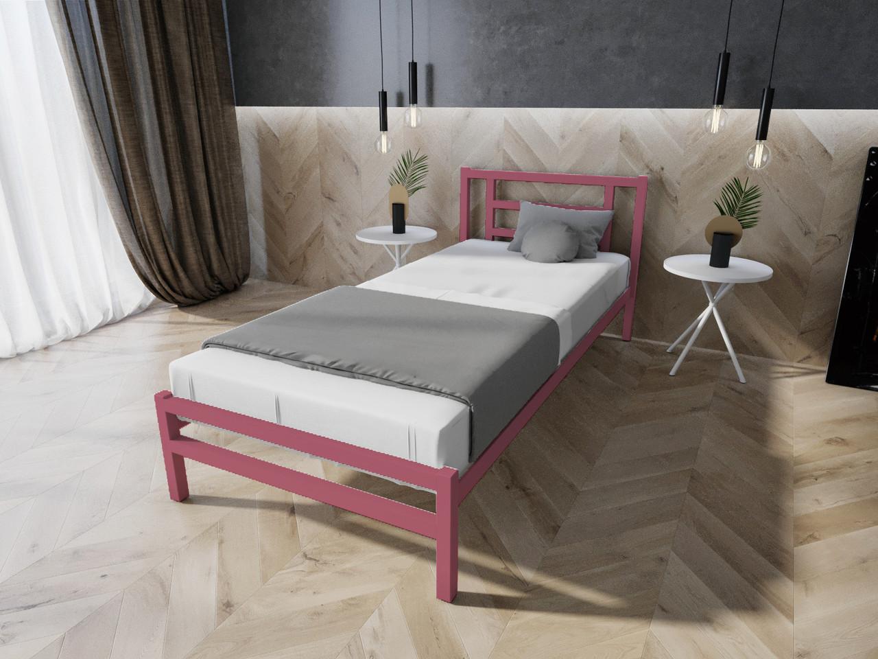 """Односпальне ліжко """"Берта"""" від Мелби (різні розміри)"""