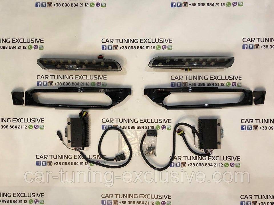 TechArt DRL running lights with blocks for Porsche Cayenne 955 / 957/ 958