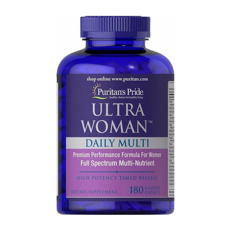 Вітаміни для жінок Puritan's Pride Ultra Woman Daily Multi (180 таб) пурітанс прайд