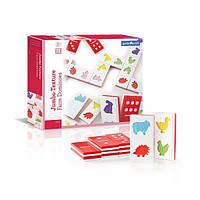 Детская игра Тактильное домино Guidecraft Manipulatives Ферма (G5055)