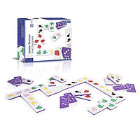 Детская игра Guidecraft Тактильное домино Manipulatives Продукты (G5056)
