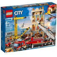 Конструктор LEGO City Центральная пожарная станция 943 детали (60216)
