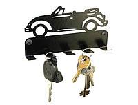 """Вешалка для ключей, ключница """"Кабриолет"""""""