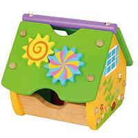 Детская игрушка-конструктор Viga Toys Веселый домик (59485)
