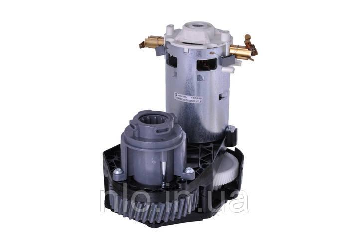 Двигатель с редуктором мясорубки Zelmer 189.1000. Bosch 12015046