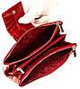 Великий жіночий гаманець BUTUN 507-007-074 шкіряний червоний, фото 5