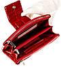 Великий жіночий гаманець BUTUN 507-007-074 шкіряний червоний, фото 4
