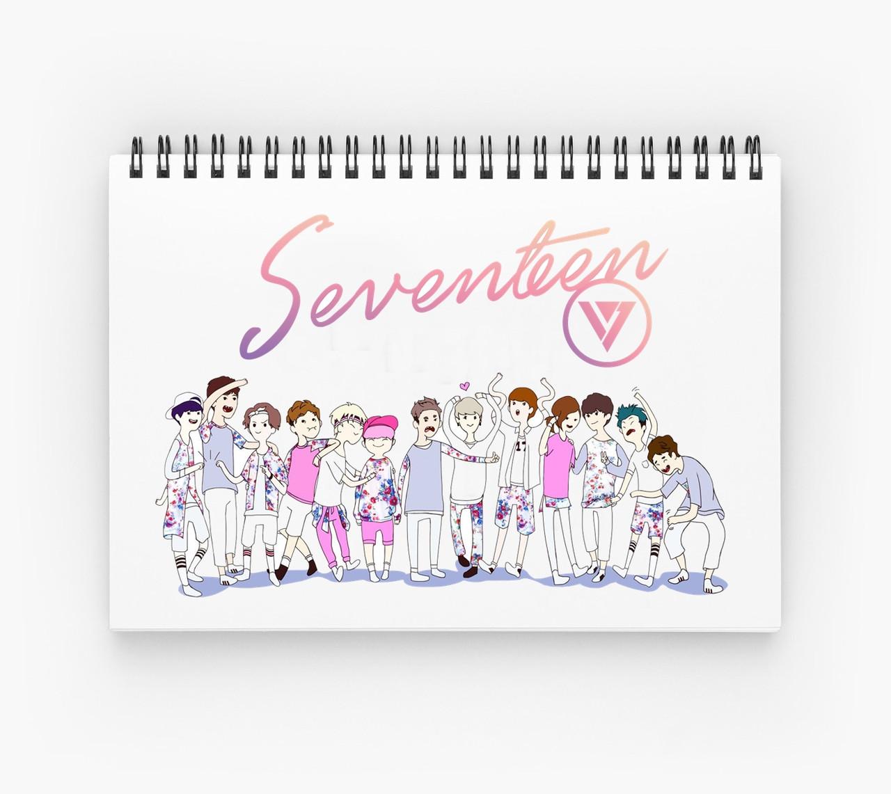 Блокнот Seventeen 2
