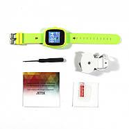 JETIX DF25 LightStrap Дитячі годинник-телефон з GPS маячком, валогазащитой IP67 + Захисне скло (Green), фото 5