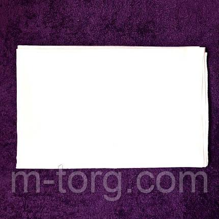 Простынь белая 150*200 см,хлопок 100% бязь Тирасполь, фото 2