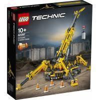 Конструктор LEGO TECHNIC Компактактный гусеничный кран 920 деталей (42097)