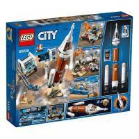 Конструктор LEGO City Космическая ракета и пункт управления запуском 837 дет (60228)