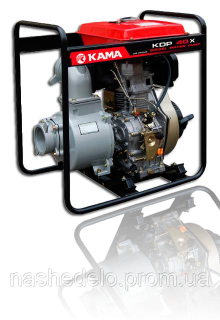 Дизельная мотопомпа Kama KDP40X