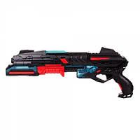 Детское игрушечное оружие Haiyuanquan Бластер 10-зарядный Різнокольоровий 48 х 5.5 х 18.5 см (FJ831)