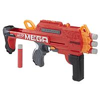 Детское игрушечное оружие Nerf Бластер Mega BULLDOG со стрелами Мега Бульдог Червоний (E3057)