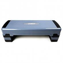 Степ-платформа Aerobic step LiveUp Grey (LS3168D)