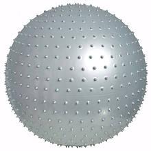 Массажный мяч LiveUp MASSAGE BALL Grey (LS3224-75)