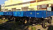 Прицеп тракторный самосвальный двухосный 2ПТС-4  в Украине Hermes, фото 4