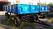 Прицеп тракторный самосвальный двухосный 2ПТС-4  в Украине Hermes, фото 5