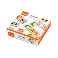 Детская Настольная игра Viga Toys Домино Насекомые (59622)