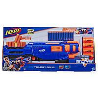 Детское игрушечное оружие Nerf Трилоджи ДС-15бластер со стрелами Різнокольоровий 71 х 32,5 х 8 см (E2853)