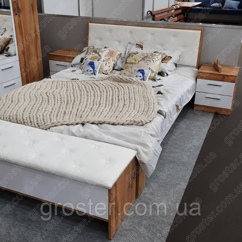 Кровать Моника 160х200, двуспальная кровать