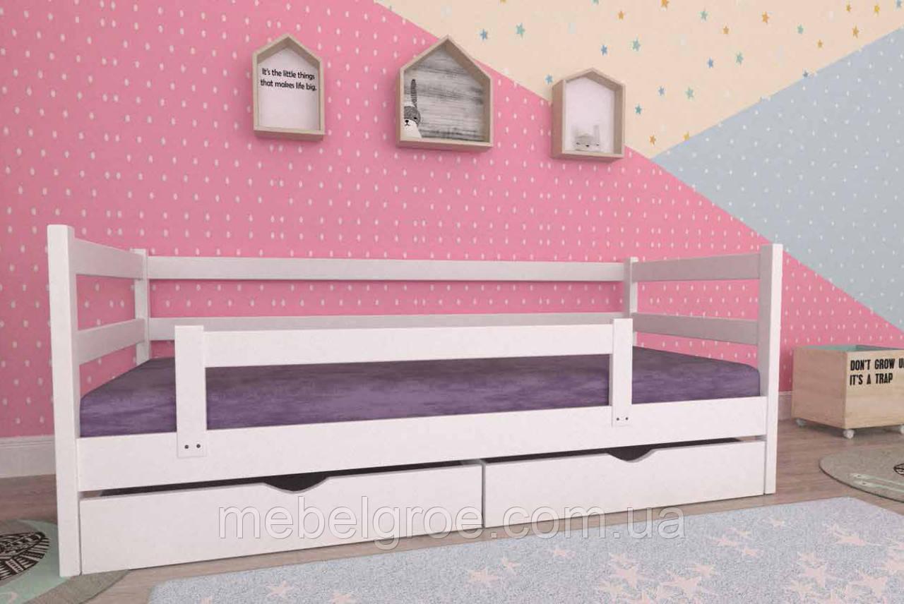 Деревянная односпальная кровать 80 Темка тм Мекано