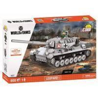 Конструктор Cobi World Of Tanks Леопард 1, 600 деталей (COBI-3037)