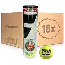 Теннисные мячи Babolat French Open All Court 4 72 мяча (hub_pYSN22360)