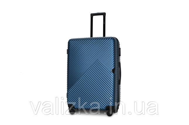 Великий пластиковий чемодан морська хвиля Fly 2702, фото 2