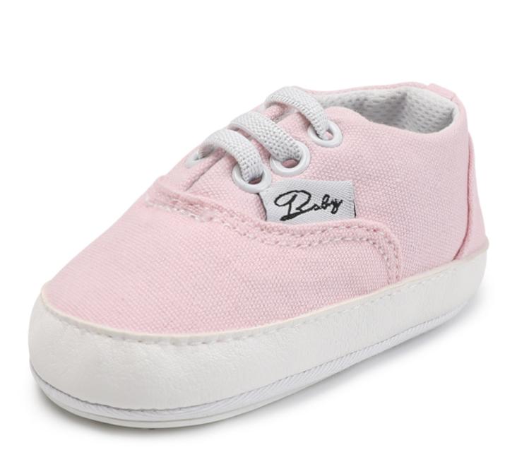 Пінетки-кросівки для дівчинки пинетки девочке рожеві 12